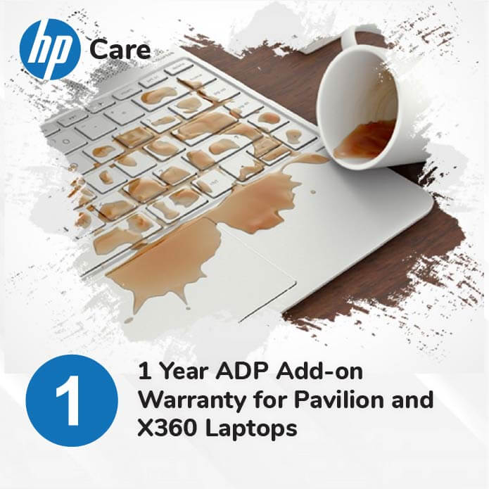 HP 1 Year Accidental Protection for Pavilion and X360 Laptops