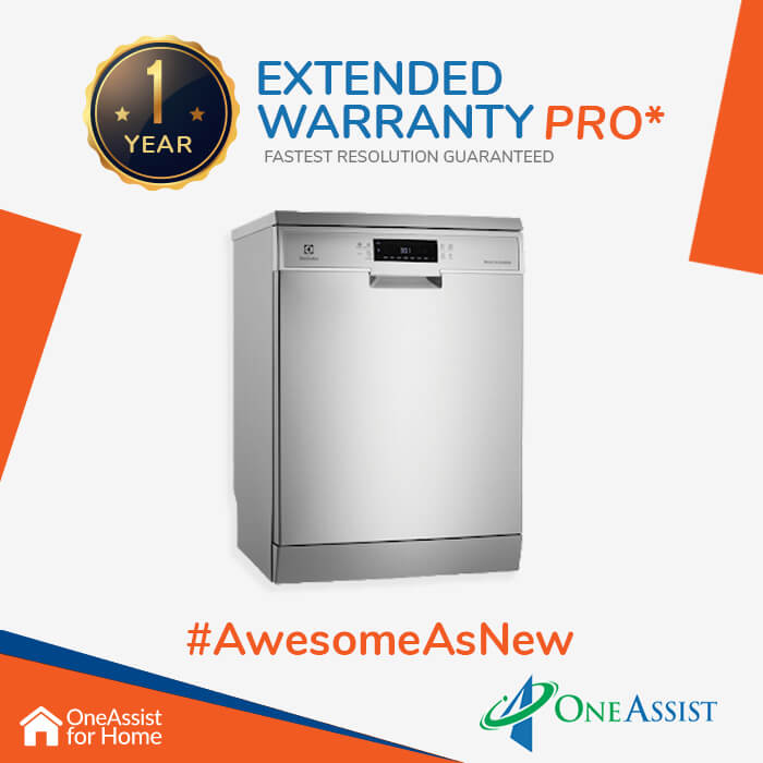 OneAssist One Year Plan (Device Price Range 5000 - 30000) for Dishwasher