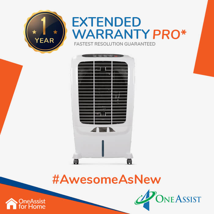 OneAssist One Year Plan (Device Price Range 3001 - 4999) for Air Cooler