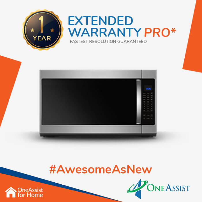 OneAssist One Year Plan (Device Price Range 5000 - 10000) for Microwave