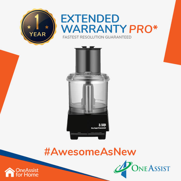 OneAssist One Year Plan (Device Price Range 3001 - 4999) for Food Processor