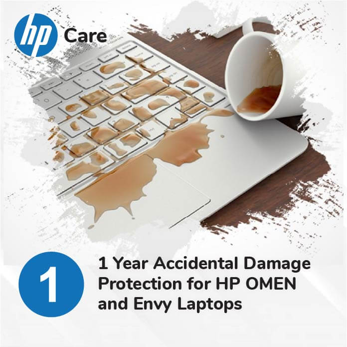 HP 1 Year Accidental Protection for Envy and Omen Laptops