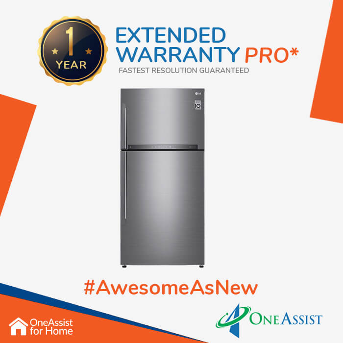 OneAssist One Year Plan (Device Price Range 5000 - 20000) for Refrigerator