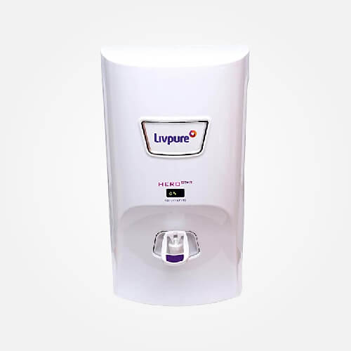 Livpure hero star 7 L RO Water Purifier (White)