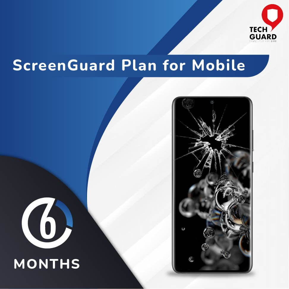 TechGuard Six Months Screen Guard (Device Price Range 180001 - 185000) for Mobile