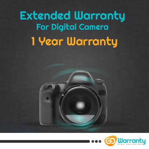 GoWarranty One Year Plan (Device Price Range 1 - 15000) for Digital Camera