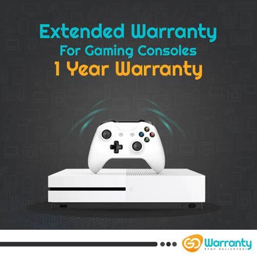 GoWarranty One Year Plan (Device Price Range 40001 - 60000) for Gaming Consoles