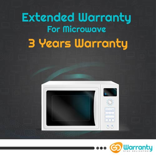 GoWarranty Three Years Plan (Device Price Range 1 - 5000) for Microwave