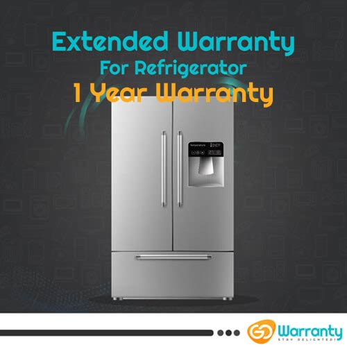 GoWarranty One Year Plan (Device Price Range 15001 - 30000) for Refrigerator