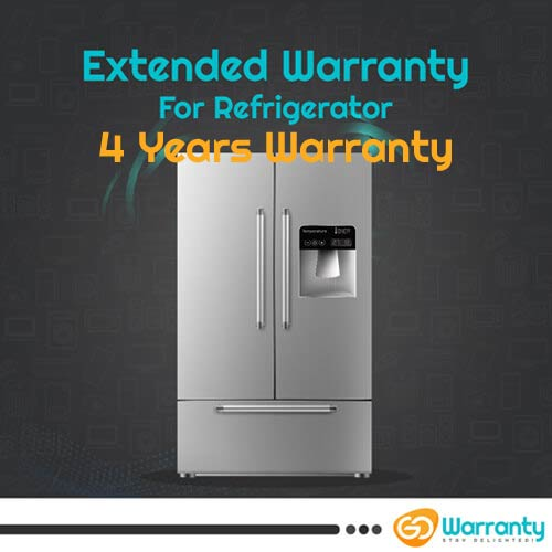 GoWarranty Four Years Plan (Device Price Range 1 - 15000) for Refrigerator