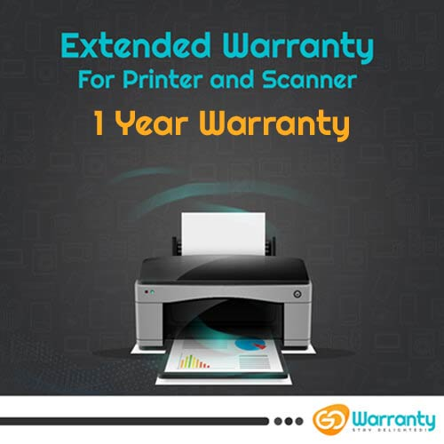 GoWarranty One Year Plan (Device Price Range 1 - 10000) for Printer