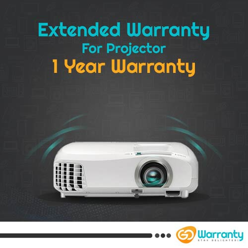 GoWarranty One Year Plan (Device Price Range 1 - 10000) for Projector