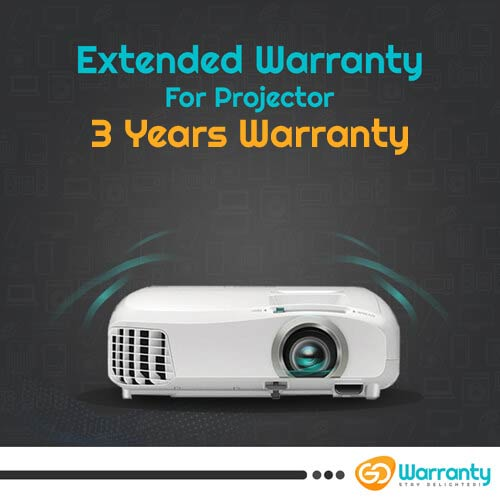 GoWarranty Three Years Plan (Device Price Range 1 - 10000) for Projector