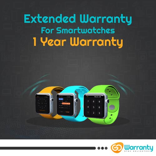 GoWarranty One Year Plan (Device Price Range 1 - 5000) for Smart Watch