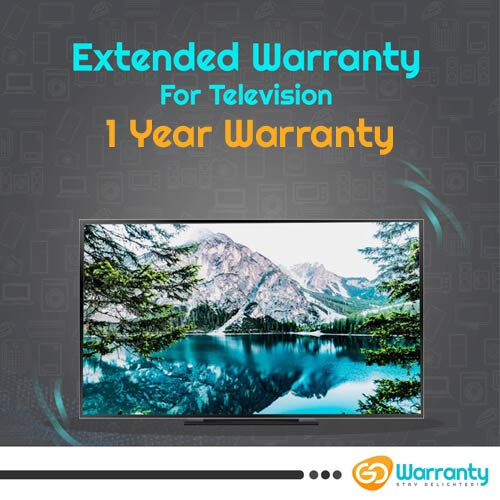 GoWarranty One Year Plan (Device Price Range 20001 - 40000) for Television