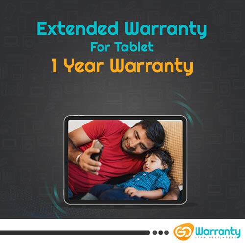 GoWarranty One Year Plan (Device Price Range 1 - 10000) for Android Tablet