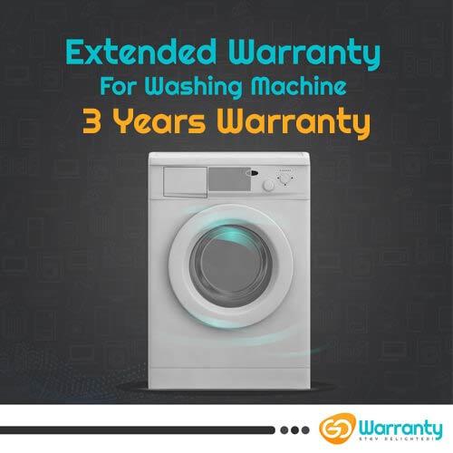 GoWarranty Three Years Plan (Device Price Range 1 - 15000) for Washing Machine