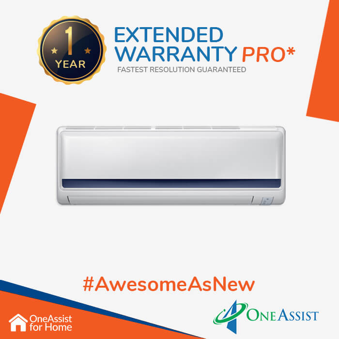 OneAssist One Year Plan (Device Price Range 35001 - 55000) for AC