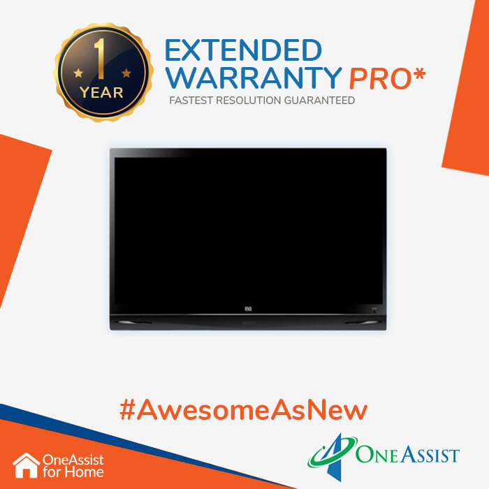 OneAssist One Year Plan (Device Price Range 25001 - 30000) for TV