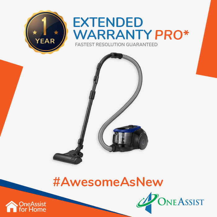 OneAssist One Year Plan (Device Price Range 3001 - 4999) for Vacuum Cleaner