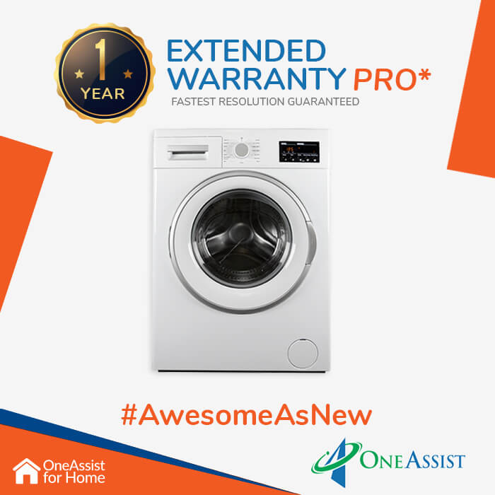 OneAssist One Year Plan (Device Price Range 15001 - 20000) for Washing Machine