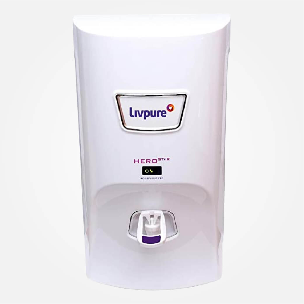 Livpure Hero 7 L RO Water Purifier (White)