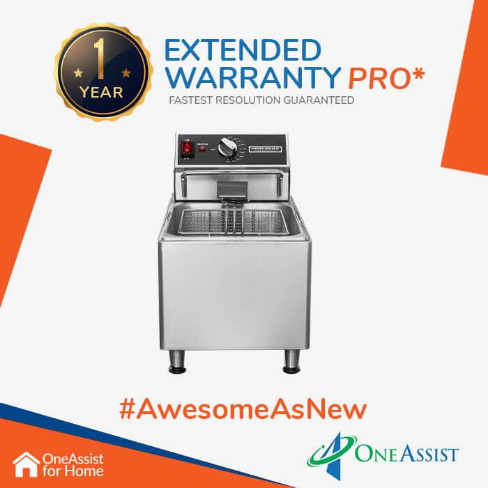 OneAssist One Year Plan (Device Price Range 10001 - 20000) for Fryer