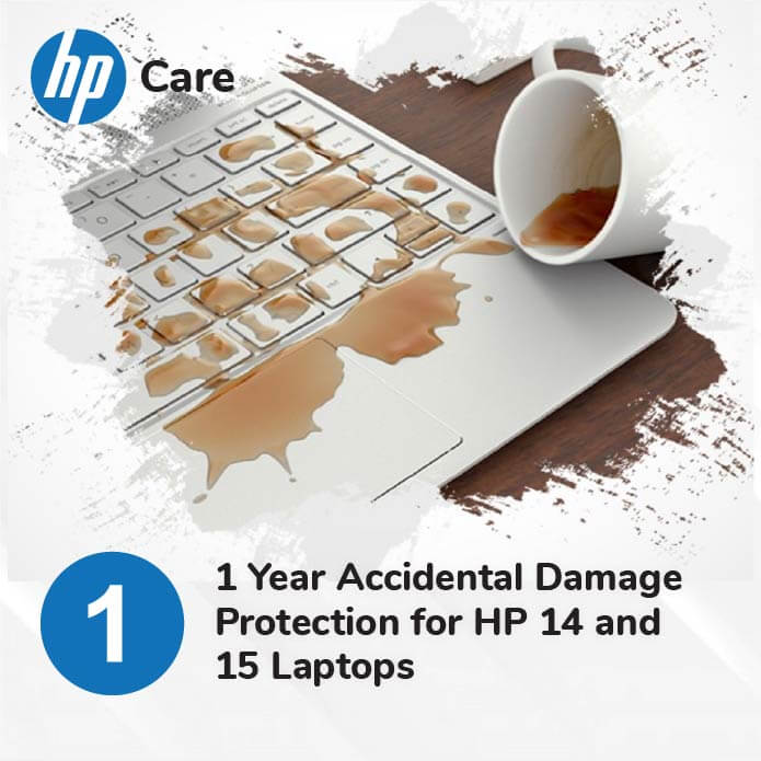 HP 1 Year Accidental Protection for HP 14 15 and Chromebook Laptops