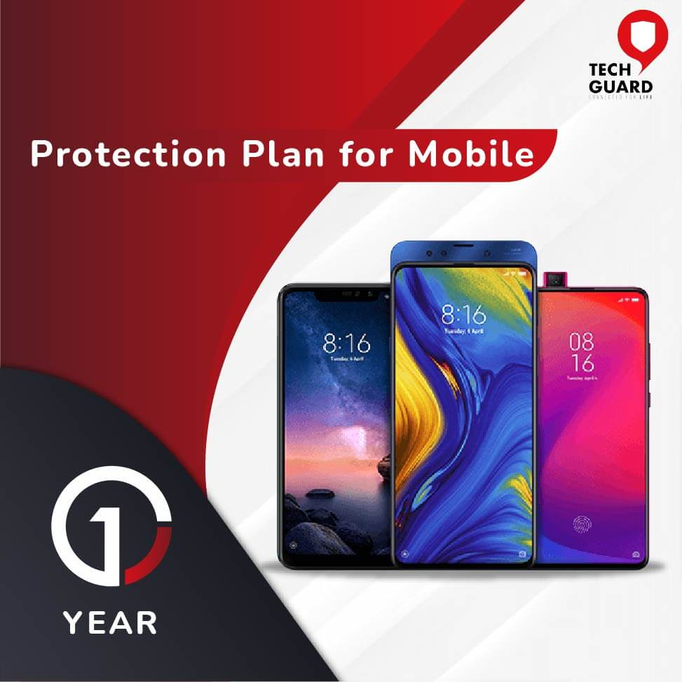 TechGuard One Year Plan (Device Price Range 5001 - 10000) for Mobile