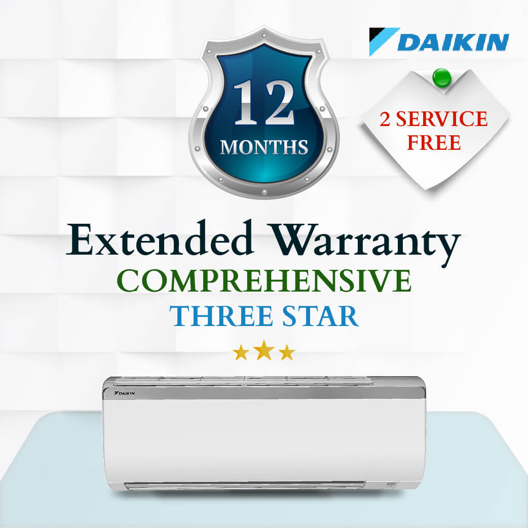 Daikin Comprehensive Warranty - upto Three Star