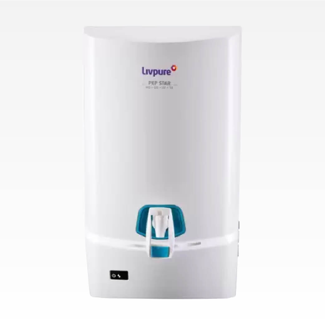 Livpure Pep Star RO+UV+UF+Taste Enhancer Water Purifier