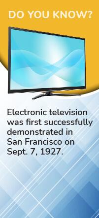 Television banner
